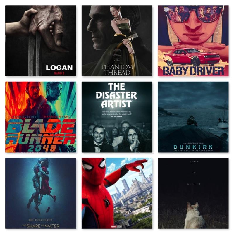 top ten movie lists 2017